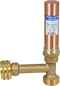 "SUPPLY GIANT IBXN0056 Hose Bib Hammer Arrestor, 3/4"", Copper"