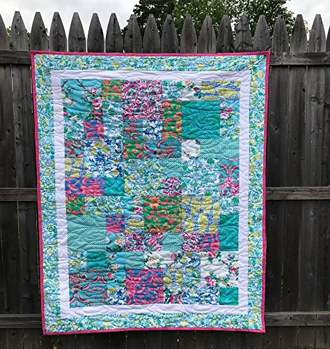 - Sis Boom Jennifer Paganelli Block Of 5 Quilt Top Kit 50 By 60 Inches