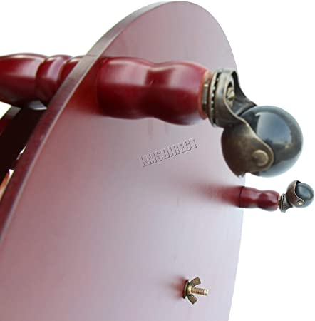 Westwood globe en forme de mini bar boissons Cabinet Style Rétro Chariot bouteilles 450 mm
