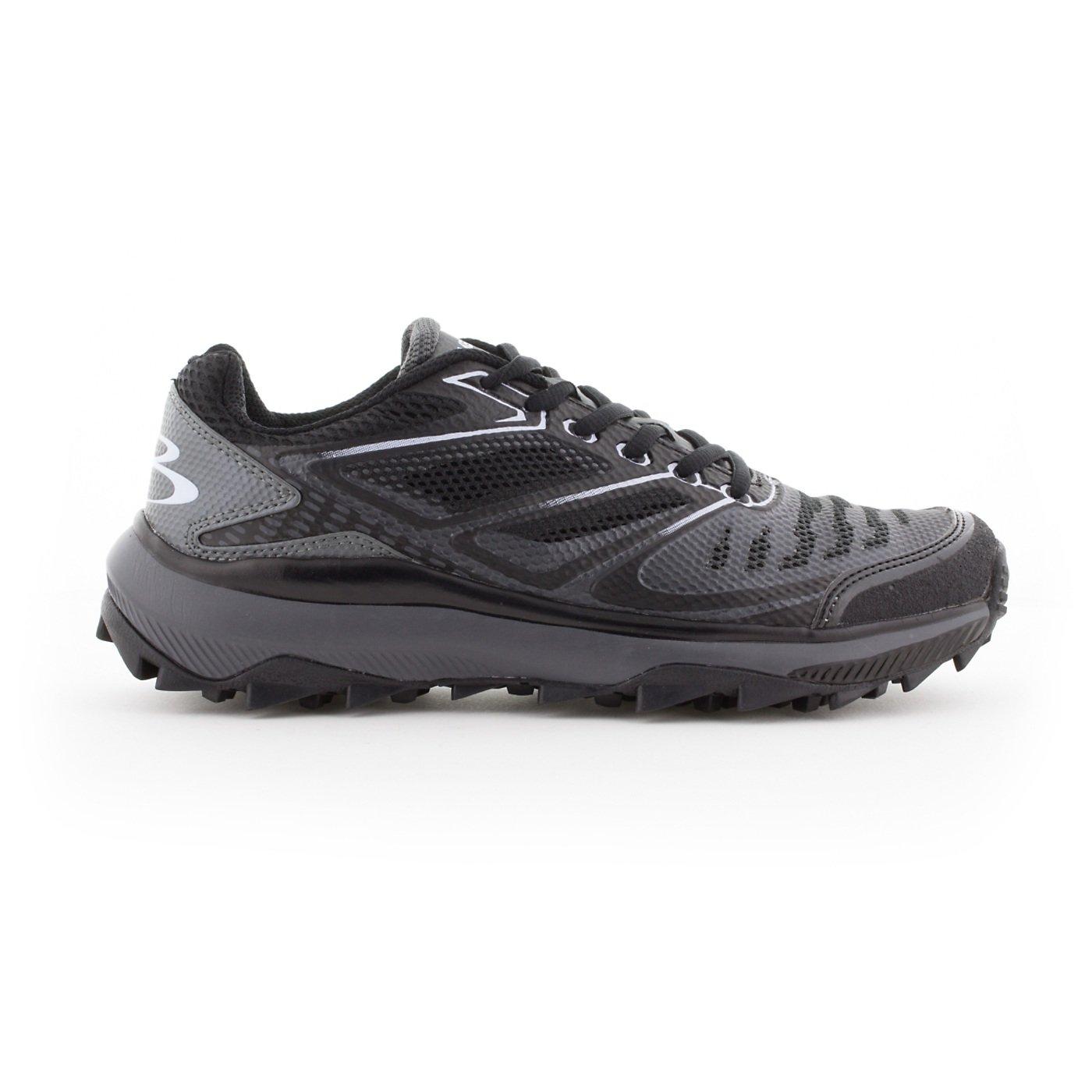 BoombahメンズTurbine Turf Shoes – 20カラーオプション – 複数のサイズ B076JNDR2W 11|ブラック/チャーコール ブラック/チャーコール 11