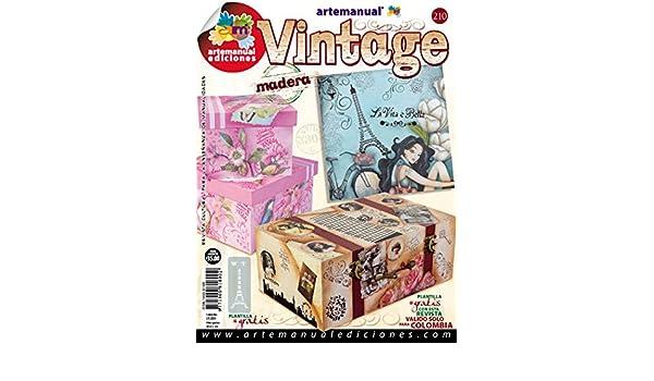 Revista Manualidades Crea Tu Propio Proyecto -210 VINTAGE-: Amazon.com: Industrial & Scientific