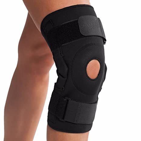 979abc1464 Small : BOLD Ultra Knee Brace With Bilateral Hinges Knee Support Small  Black: Amazon.in: Sports, Fitness & Outdoors