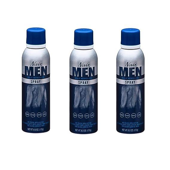 Amazon Com Nair Hair Remover Mens Spray 6 Ounce 177ml 3 Pack