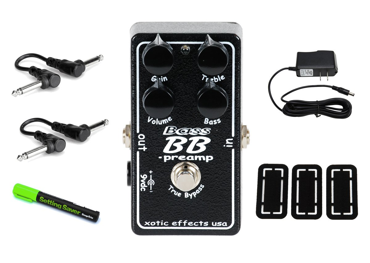 Xotic Effects Bass BB Preamp PRYMAXE PEDAL BUNDLE by Xotic Effects