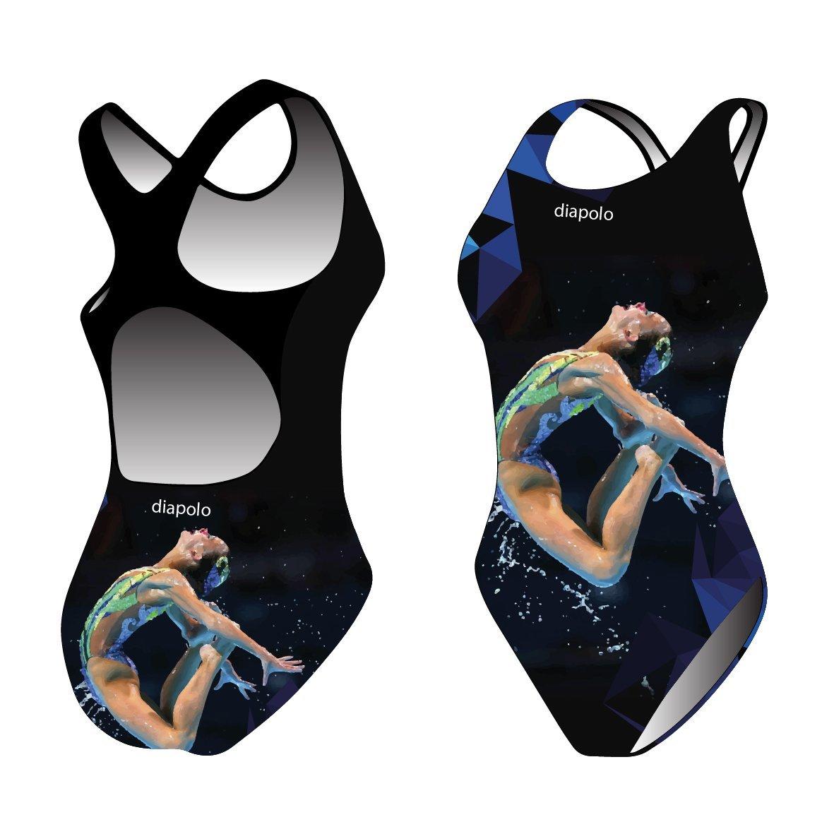 Diapolo Synchr Flyer Badeanzug Synchro Kollektion für Schwimmen Synchronschwimmen Wasserball Triathlon