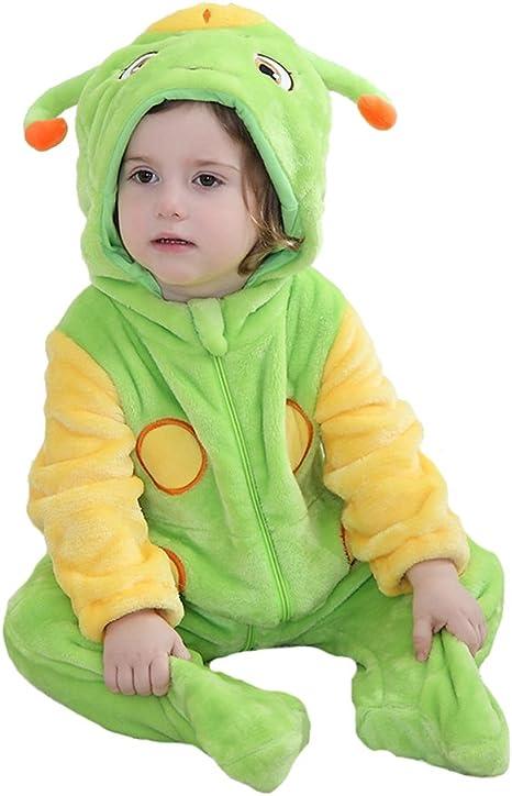 Tonwhar Adorable verde disfraz de gusano para hacer para lactantes ...