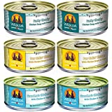 Weruva Grain Free Canned Dog Food Variety Pack, 5.5 oz Each, 3 flavor