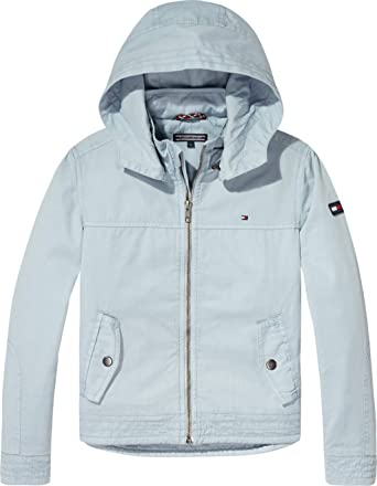 89be338d316e8 Tommy Hilfiger Zip Up Hoodie For Boys - Light Blue, Size 5 Years ...