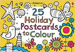 25 Holiday Postcards to Colour: Amazon.co.uk: Candice Whatmore ...