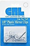Amazon Com Crl 3 4 Quot Antique Silver Floral Metal Mirror