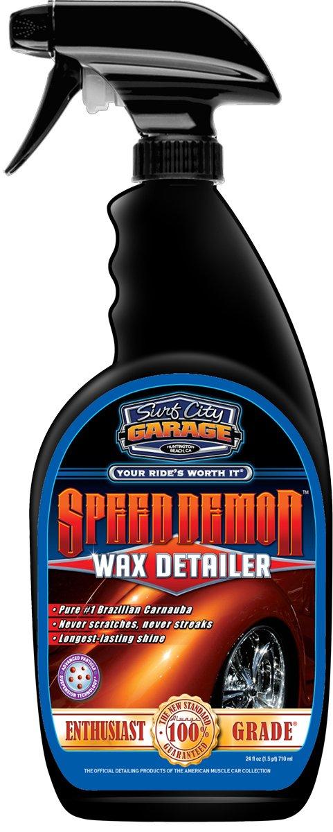 Surf City Garage Speed Demon Wax Detailer, 710ml 100