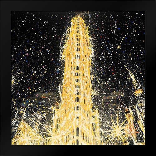 Abstract Flatiron Building Framed Art Print by Atelier B Art Studio ()