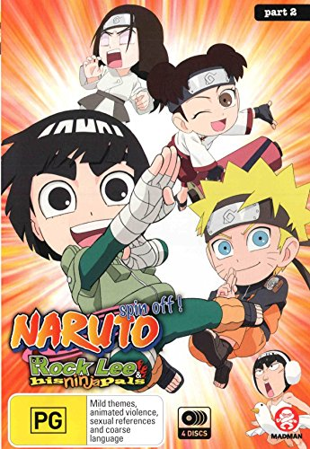 Naruto Spin-Off - Rock Lee and His Ninja Pals [Part 2 Eps 27-51] [NON-USA Format / PAL / Region 4 Import - Australia]
