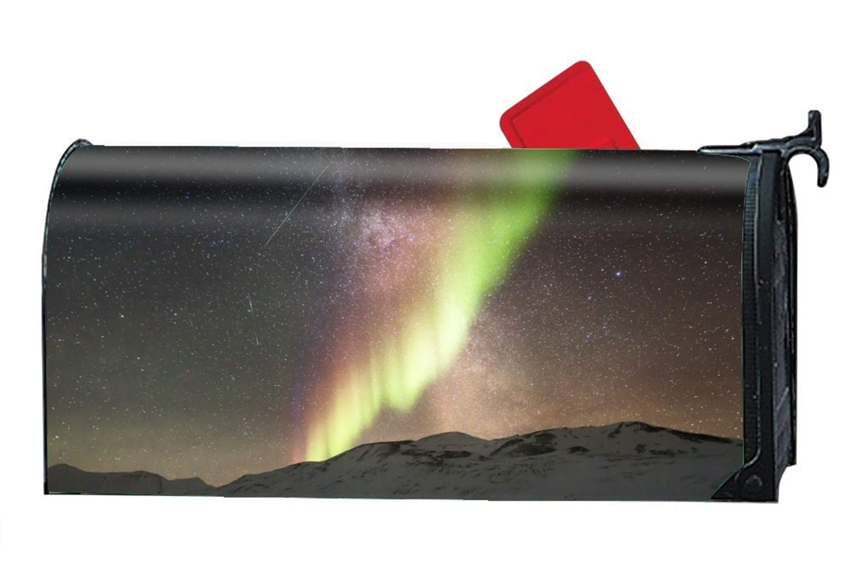 jiajufushi Green Light Magnetic Mailbox Cover Primitive Standard 21 x 9 Inches