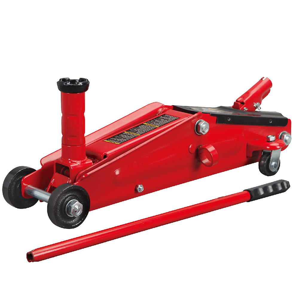 Torin Big Red Hydraulic Trolley Floor Jack: SUV / Extended Height, 3 Ton Capacity by Torin