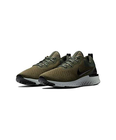 2fa1a7e854a6 Nike Men s Odyssey React Medium Olive Black Running Shoes  Buy ...