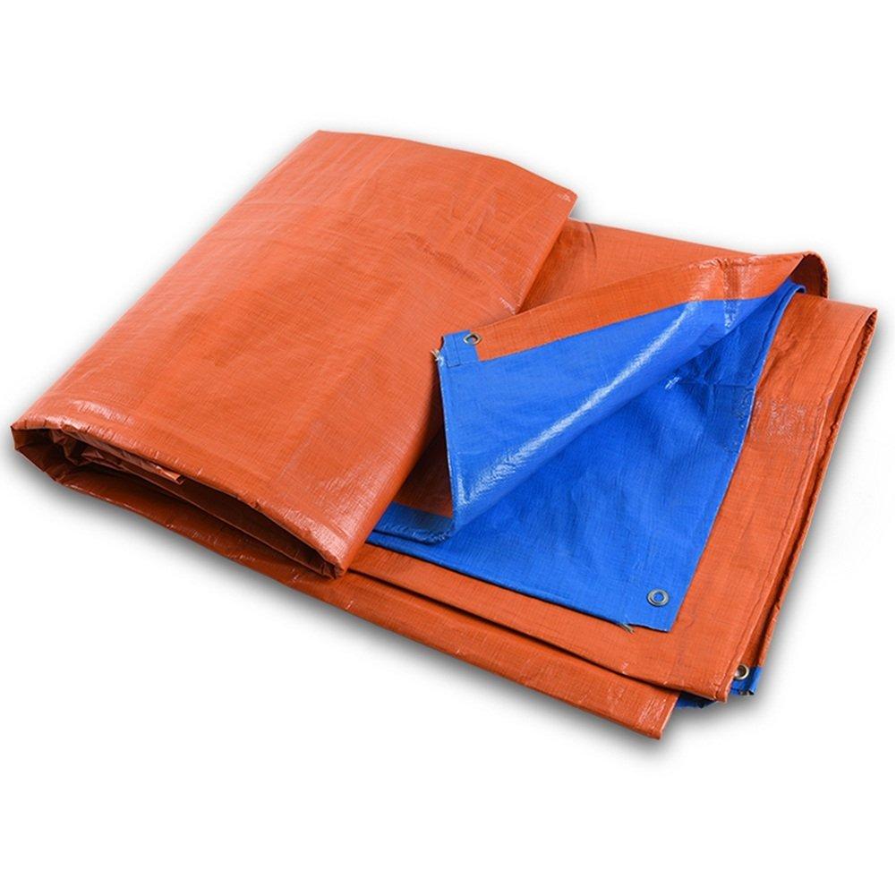 MEIDI Home Regenschutztuch wasserdicht Plane wasserdicht und Winddicht Gartenschutz Anlage Sonnencreme liefert LKW Fach Tuch Faltbare Anti-Oxidation (Farbe   A, Größe   3x4M)