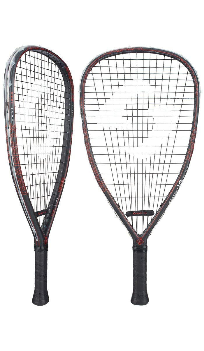 Gearbox GBX1 185 Quad Racquetball Racquet (Red)
