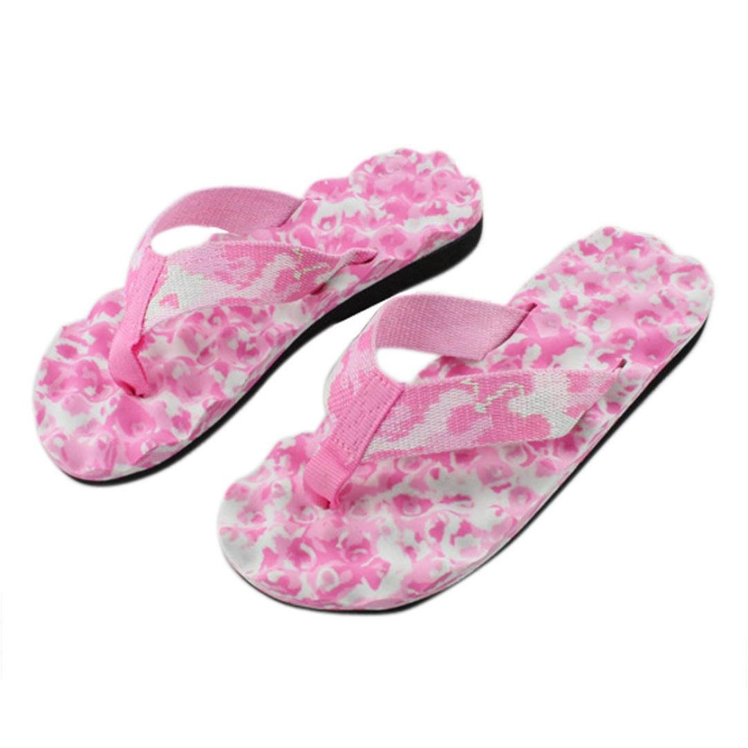 IEason-shoes Women Summer Flip Flops Shoes Sandals Slipper Indoor & Outdoor Flip-Flops