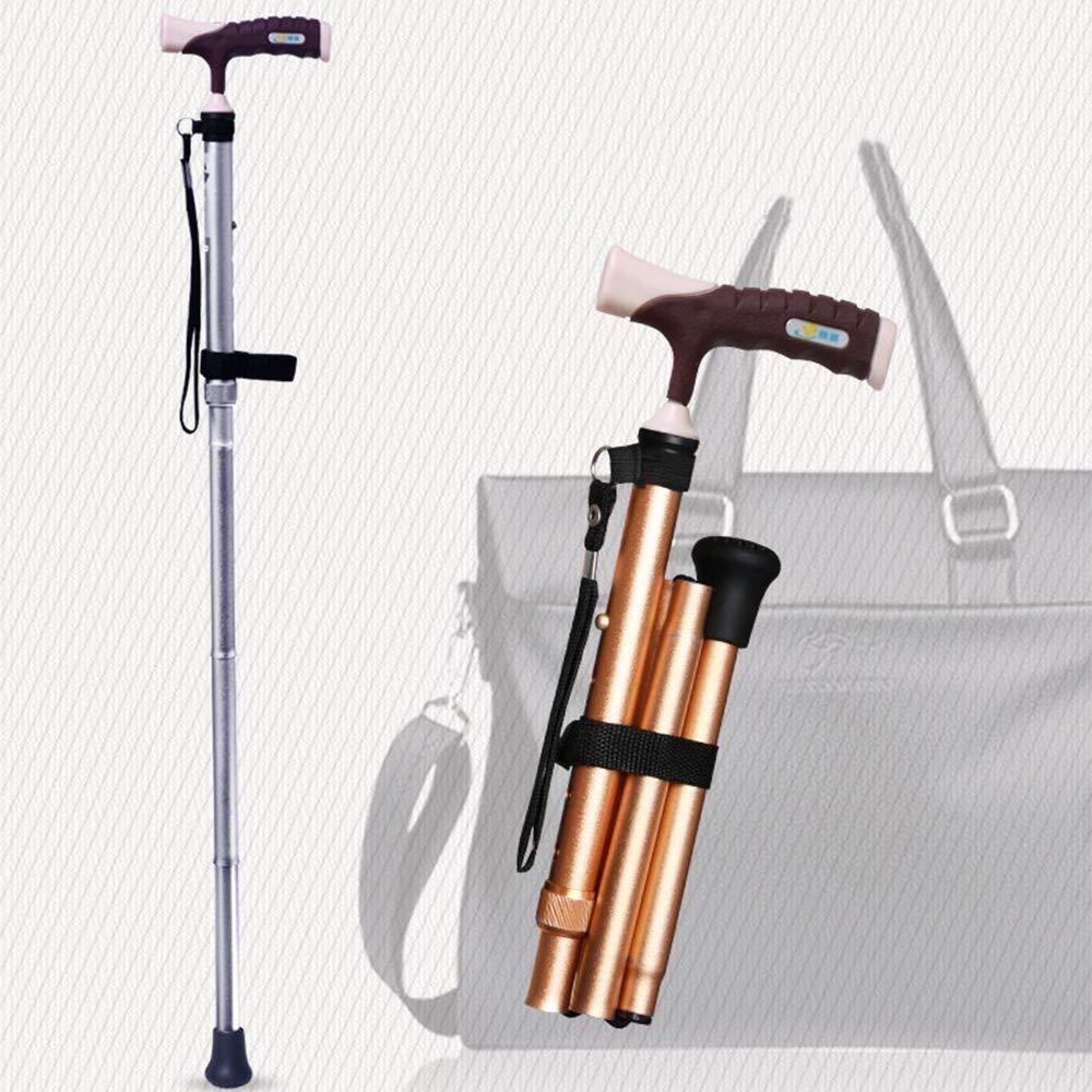 Muleta para ancianos: bastón plegable para ancianos Básculas ...