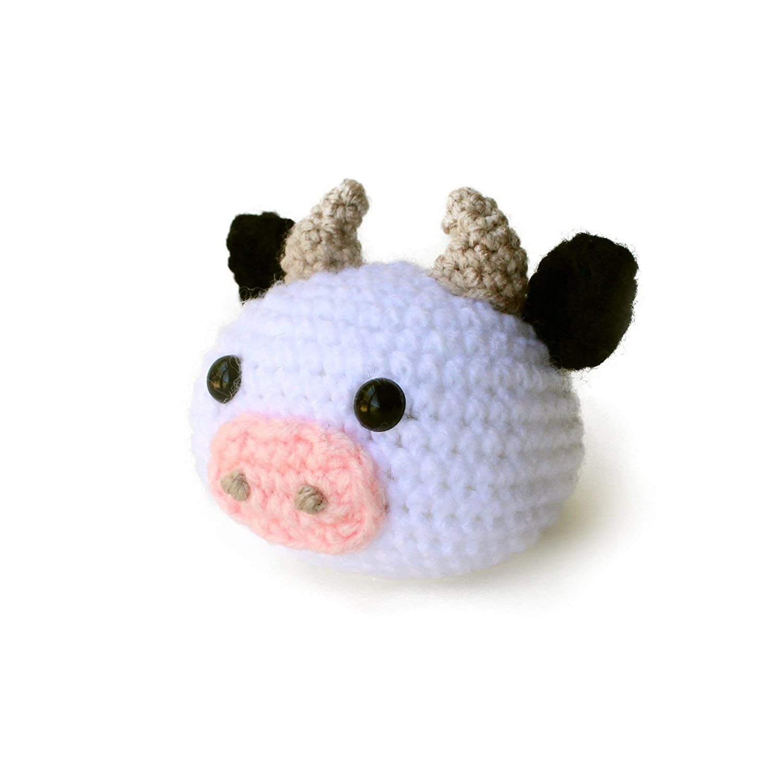 Cow Amigurumi - Free Crochet Pattern - StringyDingDing | 1500x1500