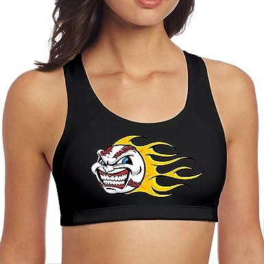 Amazon.com: Fonsisi - Sujetador deportivo para mujer ...