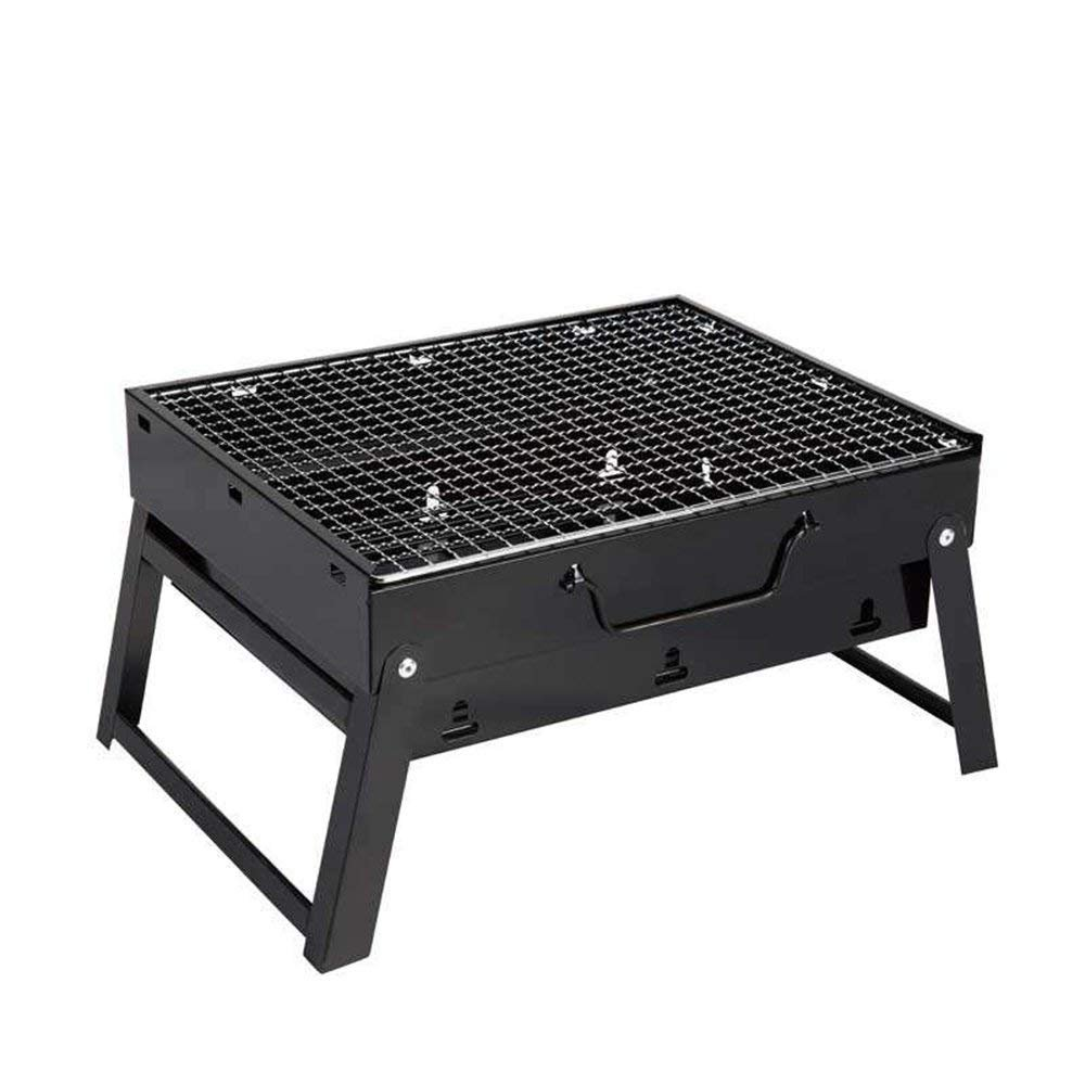 minus one Barbecue Charcoal Grill Folding Portable Lightweight Simple BBQ Grills Outdoor Cooking Camping Hiking Picnics Garden Cooking