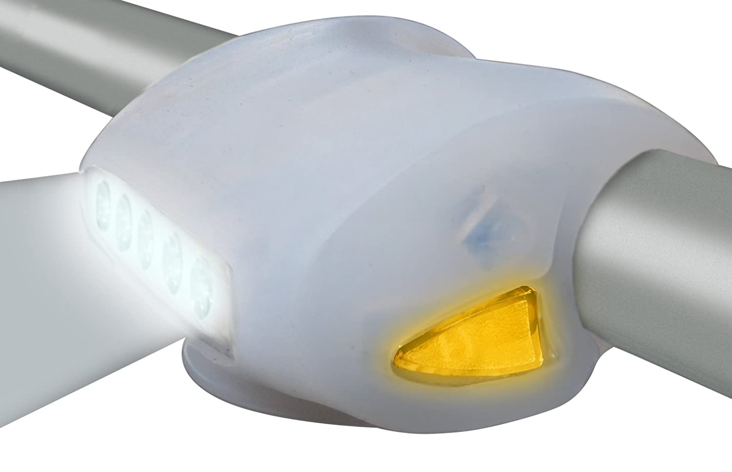 Clean Motion Brutus 180 Silicone Headlight White BRH-004