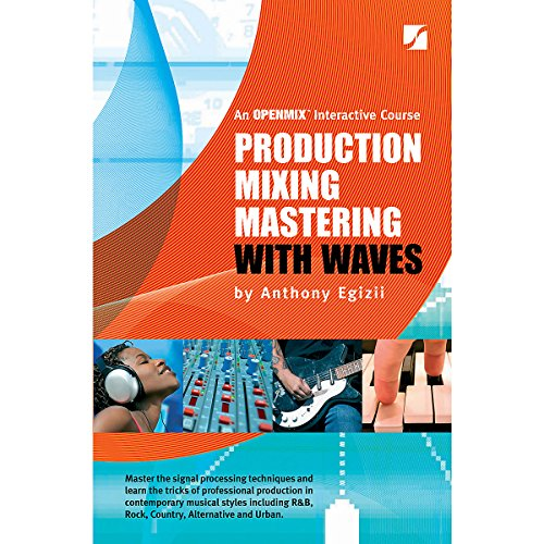 Hal Leonard Production Mixing Mastering With Waves 5th Edition (Standard)