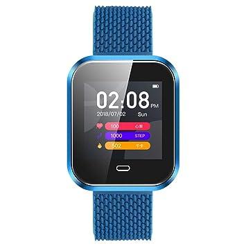 ZJXHAO 2019 versión Bluetooth Sport Smart Watch Apoyo frecuencia ...