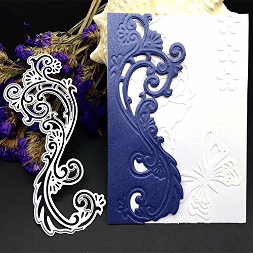 Buy Bluelans Cutting Dies Stencil Metal Mould Template for DIY ...