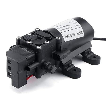 LYFEI Interruptor de presión 12V 160P diafragma autocebante Bomba ...