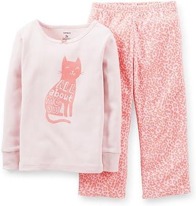 Carters Little Girls 2 Piece PJ Set Toddler//Kid