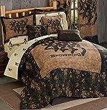 Backwoods Buckmark Comforter Set - Twin