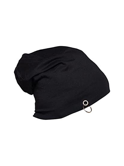 c951337557d Vimal Men s Beanie Cap (ring cap black 01 black free Size)  Amazon.in   Clothing   Accessories