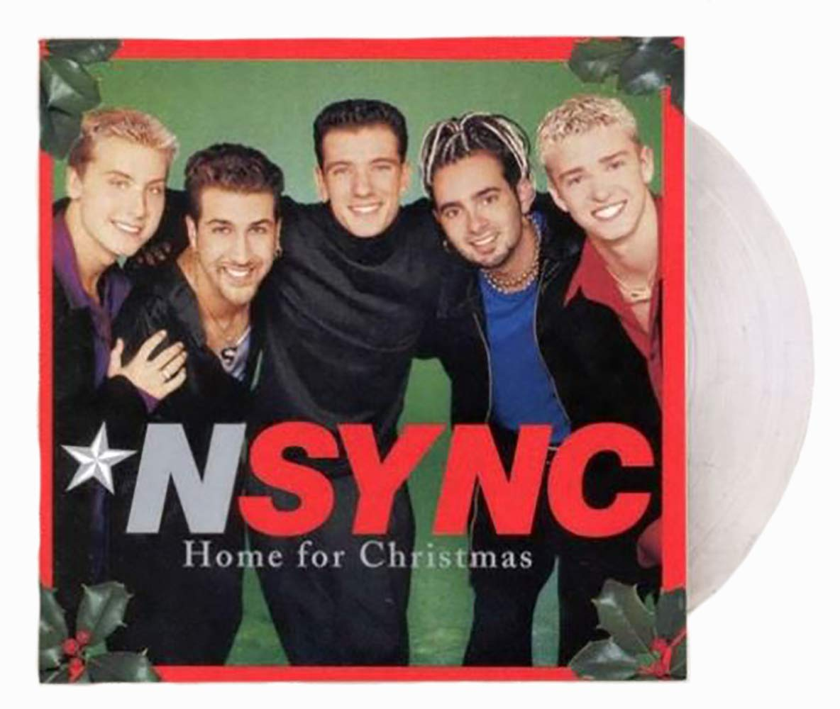 NSYNC - NSYNC - Home For Christmas Limited 2XLP (Exclusive Clear ...