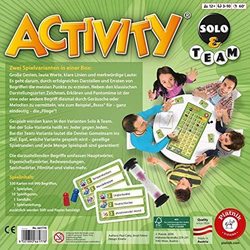 Piatnik 6617 - Activty Solo & Team