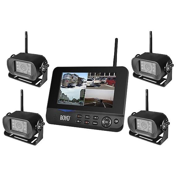 Amazon Boyo Vtc700rq 4 4ch Digital Wireless Car Rear View With