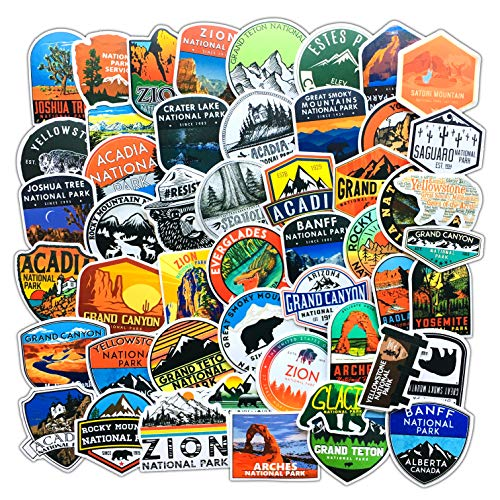🥇 National Park Stickers
