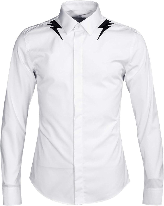 Nuevo Bordado Camisas para Hombres Camisas para Hombres ...