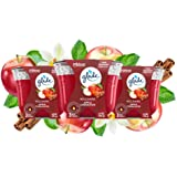 Glade Candle Apple Cinnamon, Fragrance Candle Infused with Essential Oils, Air Freshener Candle, 3-Wick Candle, 6.8 Oz, 3 Cou
