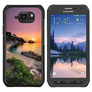 Stuss Case / Funda Carcasa protectora - Naturaleza Mar Beach Sun - Samsung Galaxy S6 Active G890A