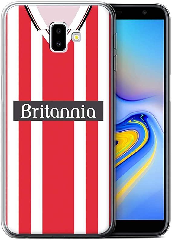 STOKE CITY  RETRO  GEL TPU IPHONE CASE COVER
