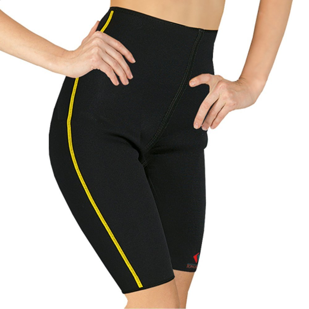 """""""ELASTIC MEDICAL GRADE CLASS Neoprene DELUXE COMPRESSION SLIMMING Shorts for SUPPORT and WARMING OF HIP and THIGH JOINTS"""" (M (See Sizing Guide Below)) Tonus Elast ELAST 0003"""