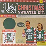 Ugly Christmas Sweater Kit, Size Small Mens
