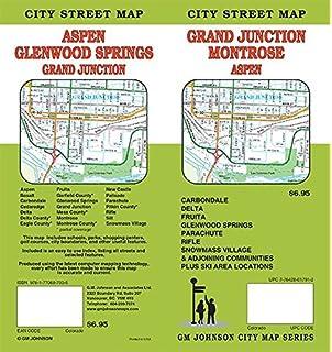 Grand Junction Aspen Glenwood Springs Montrose Co Street Map