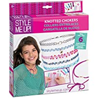 Style Me Up - Friendship Necklace/Choker Making Kit for Girls - Birthday Present/Gift Idea - SMU-628