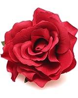 Dreamlily Rose Flower Hair Clip Flamenco Dancer Pin up Flower Brooch BC10