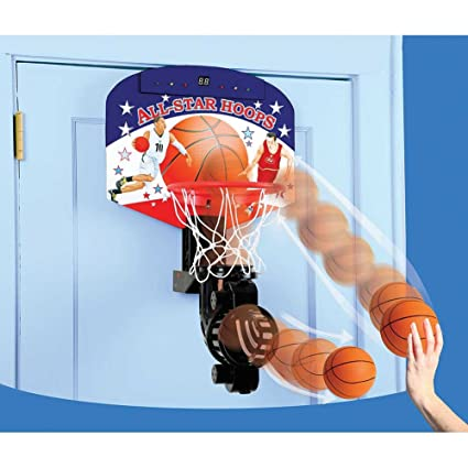 Delicieux Childrens Automatic Return Over Door Basketball Hoop