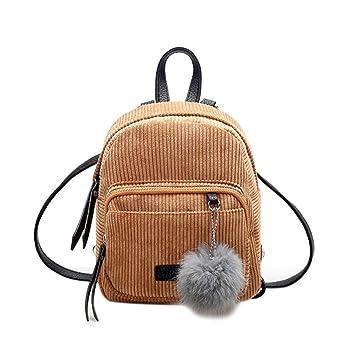 40199bdded9c Amazon.com | Mini Women Backpacks Solid School Bag Teenage Girls ...